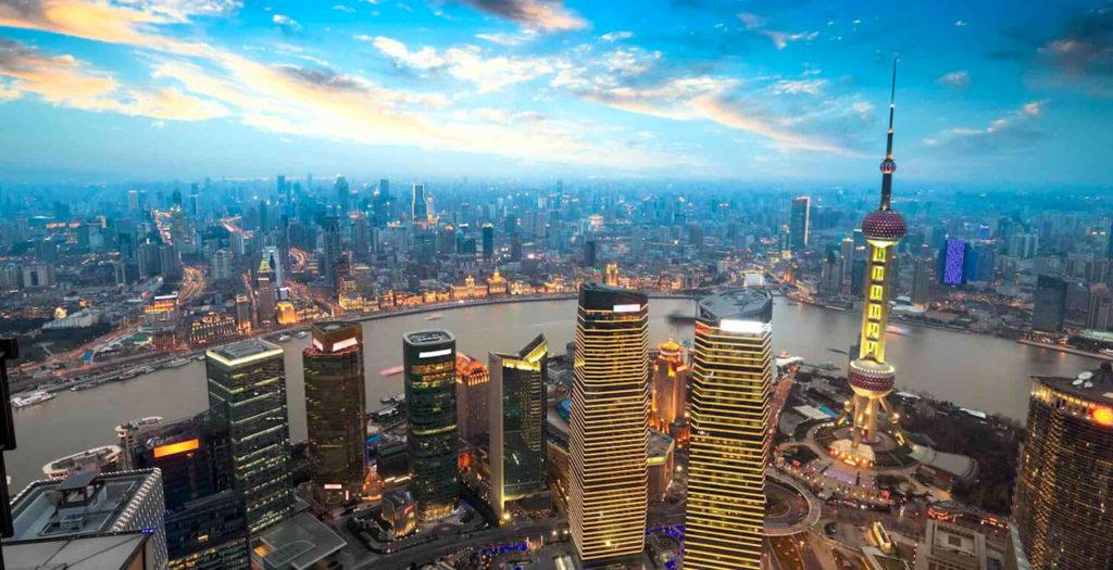 Shanghai China Skyline ESL Abroad Overseas