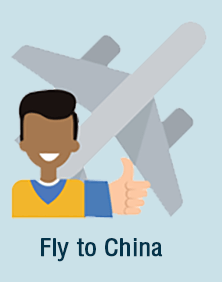 Fly to China to Teach