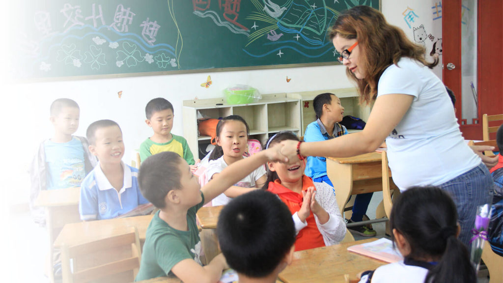 Teach English to Young Learners in Shenzhen China